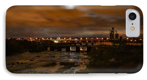 James River At Night IPhone Case