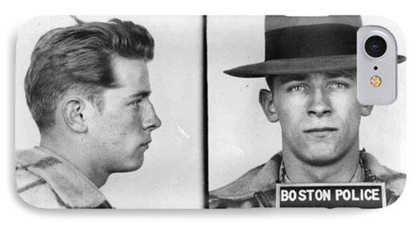James Whitey Bulger Mug Shot 1953 Horizontal IPhone Case by Tony Rubino