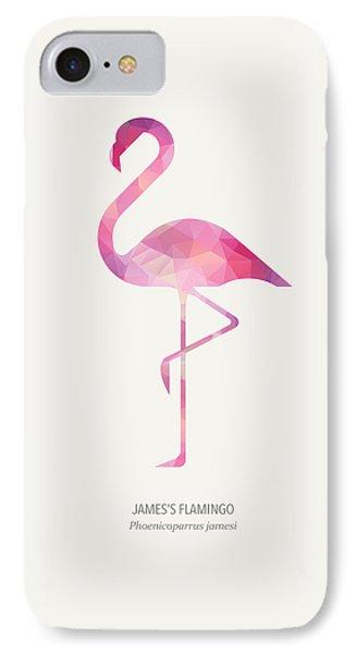 James's Flamingo IPhone Case