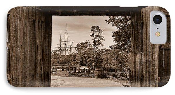 IPhone Case featuring the photograph Jamestown by Nigel Fletcher-Jones