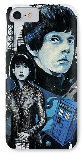 Jamie And Zoe IPhone Case by Tom Carlton