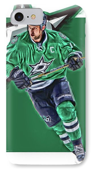 Jamie Benn Dallas Stars Oil Art Series 1 IPhone Case