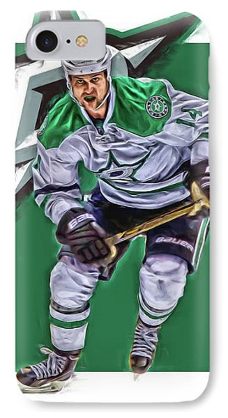 Jamie Benn Dallas Stars Oil Art Series 2 IPhone Case