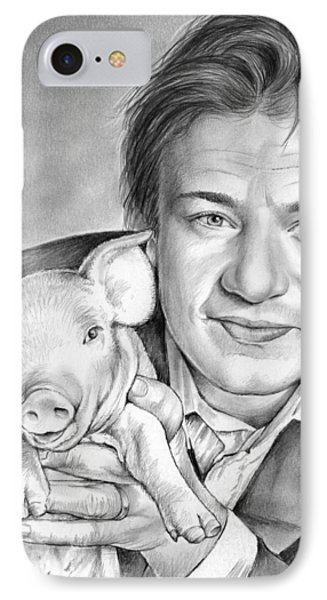 Jamie Oliver IPhone Case by Greg Joens