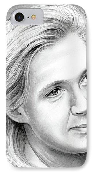Ape iPhone 7 Case - Jane Goodall by Greg Joens