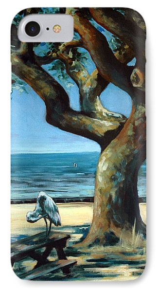 IPhone Case featuring the painting January Afternoon by Suzanne McKee