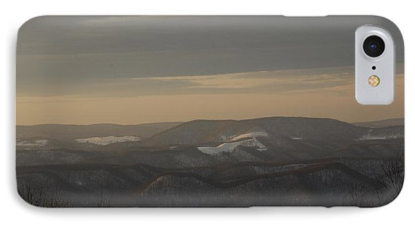 January Evening Phone Case by Randy Bodkins