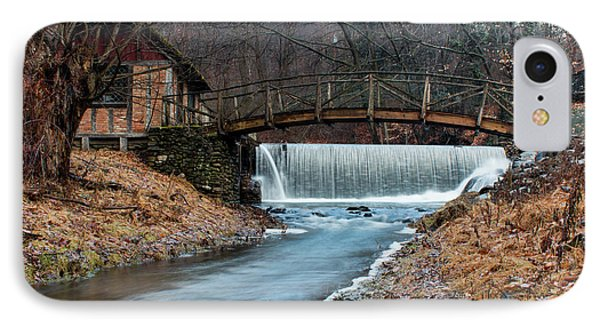 January Morning At Gomez Mill #1 Phone Case by Jeff Severson