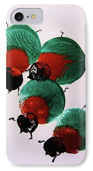 Japanese Beetles IPhone Case by Roberto Prusso