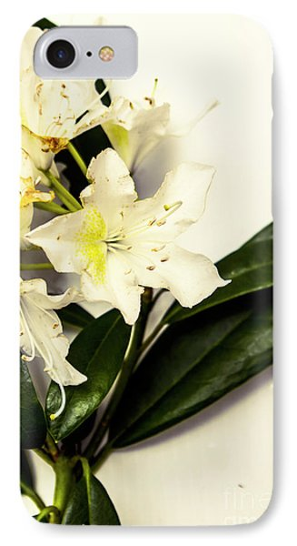 Japanese Flower Art IPhone Case