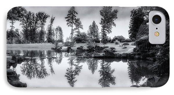 Japanese Gardens - Dawes Arboretum IPhone Case by Tom Mc Nemar
