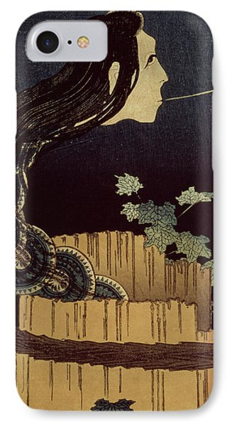 Japanese Ghost IPhone Case by Hokusai