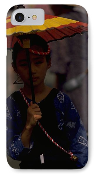 IPhone 7 Case featuring the photograph Japanese Girl by Travel Pics