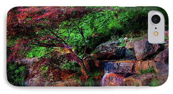 Japanese Maple At Honor Heights Park IPhone Case by Tamyra Ayles