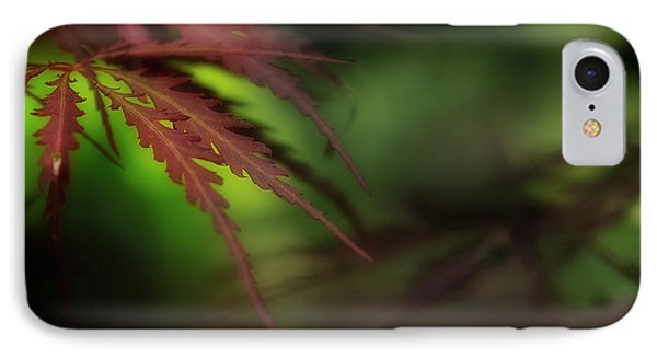 IPhone Case featuring the photograph Japanese Maple by Mike Eingle