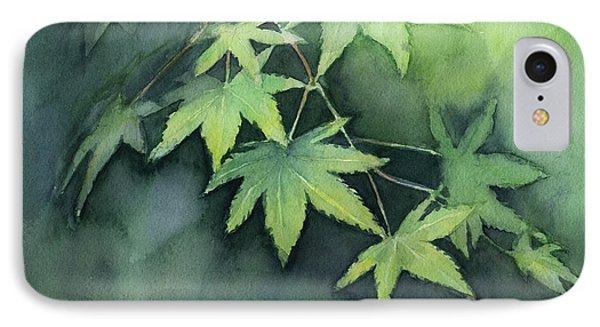 Japanese Maple  IPhone Case by Olga Shvartsur