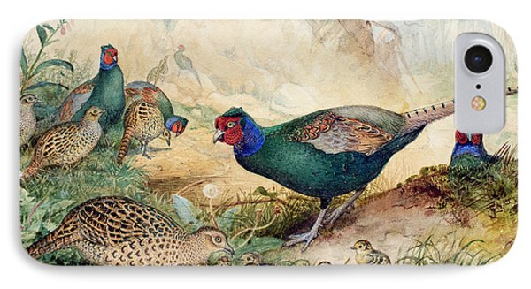 Japanese Pheasants IPhone Case