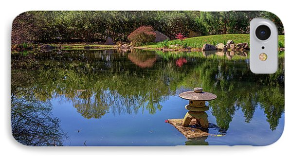 Japanese Reflections At Maymont IPhone Case by Rick Berk