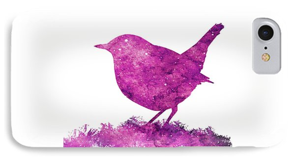 Japanese Robin Bird IPhone Case