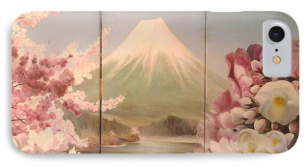 Japanese Spring IPhone Case by Sorin Apostolescu