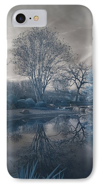 IPhone Case featuring the photograph Japanese Tea Garden Infrared Left by Joshua House