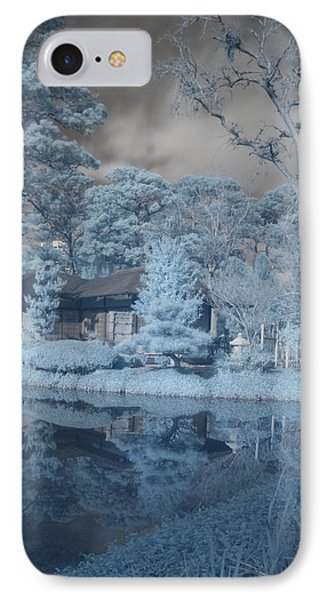 IPhone Case featuring the photograph Japanese Tea Garden Infrared Right by Joshua House