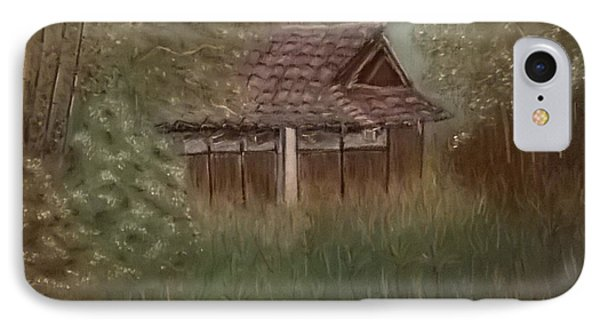 Rustic Japanese Tea House In Sydney IPhone Case by Junko Schettino