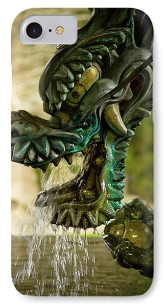 Japanese Water Dragon IPhone Case by Sebastian Musial