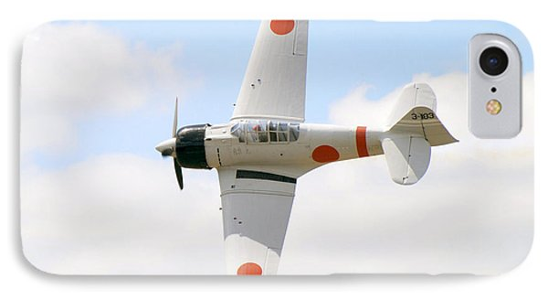IPhone Case featuring the photograph Japanese Zero by Larry Keahey