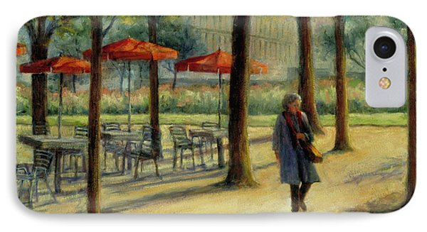 Jardin Des Tuileries In October IPhone Case