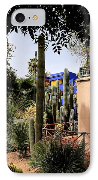 IPhone Case featuring the photograph Jardin Majorelle 4 by Andrew Fare