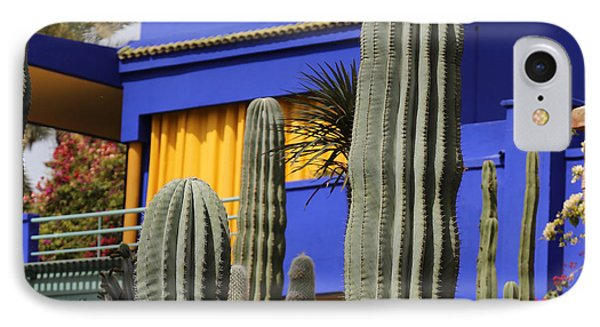 IPhone Case featuring the photograph Jardin Majorelle 5 by Andrew Fare