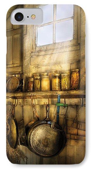 Jars - Winter Preserves  Phone Case by Mike Savad