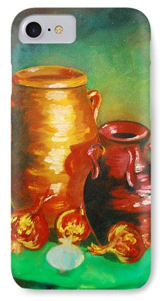 Jars Phone Case by Matthew Doronila