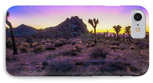 Jashua Tree Sunset California IPhone 7 Case