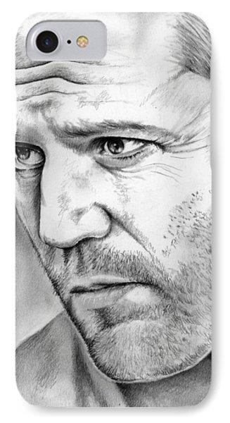 Jason Statham IPhone Case by Greg Joens