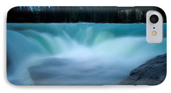 Jasper - Athabasca Falls 2 IPhone Case by Terry Elniski