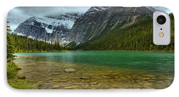 Jasper Cavell Lake IPhone Case by Adam Jewell
