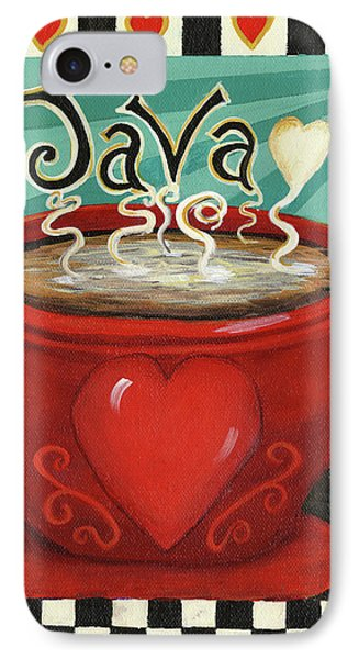 Java IPhone Case by Debbie McCulley