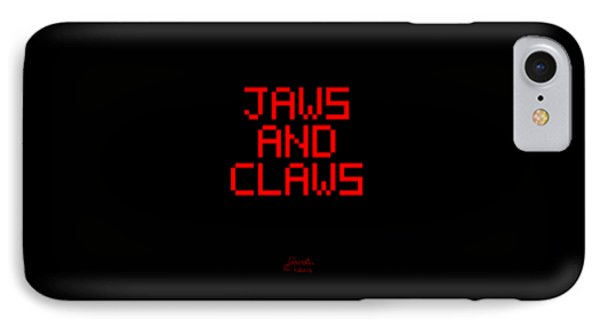 Jaws And Claws IPhone Case by Gareth Lewis