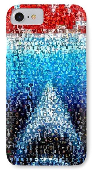 Jaws Horror Mosaic IPhone Case by Paul Van Scott