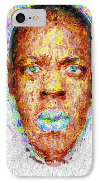 Jay Z Painted Digitally 2 IPhone 7 Case