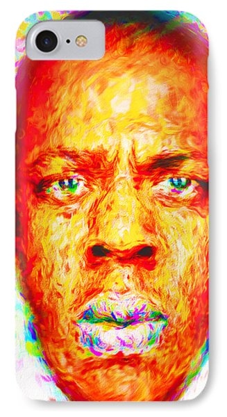 Jay-z Shawn Carter Digitally Painted IPhone 7 Case
