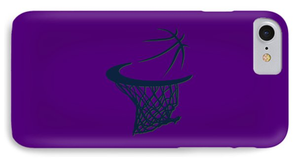 Jazz Basketball Hoop IPhone Case
