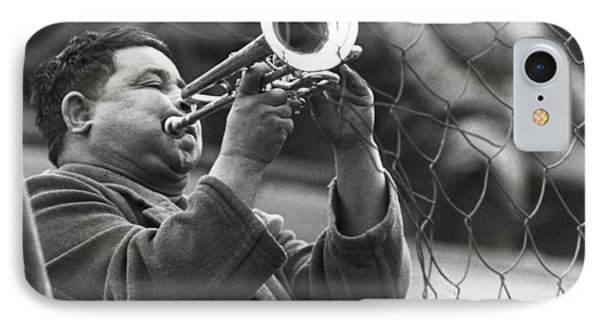 Jazz Behind A Fence IPhone Case by Emanuel Tanjala