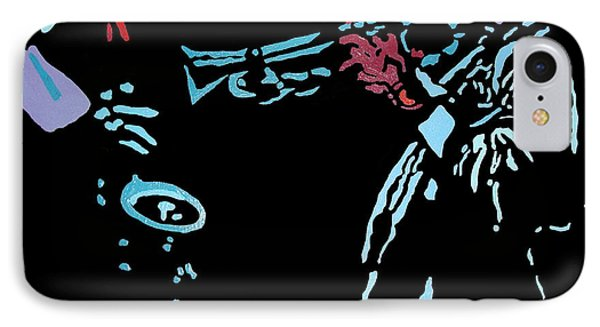 Jazz Duo IPhone Case by Angelo Thomas