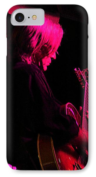 IPhone Case featuring the photograph Jazz Guitarist by Lori Seaman