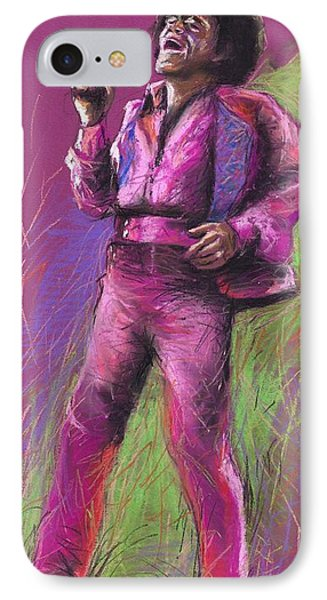 Jazz James Brown IPhone Case by Yuriy  Shevchuk