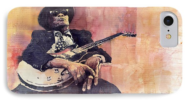 Jazz John Lee Hooker IPhone Case