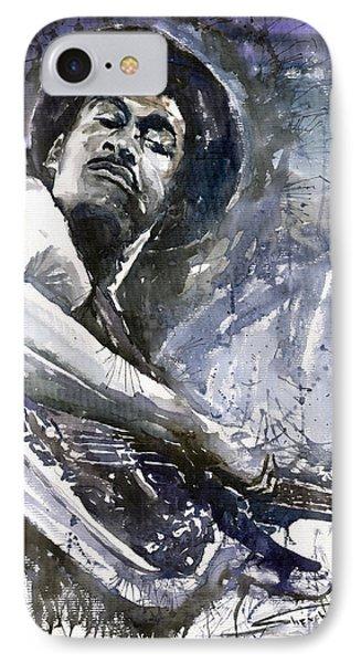 Jazz Marcus Miller 01 IPhone Case by Yuriy  Shevchuk
